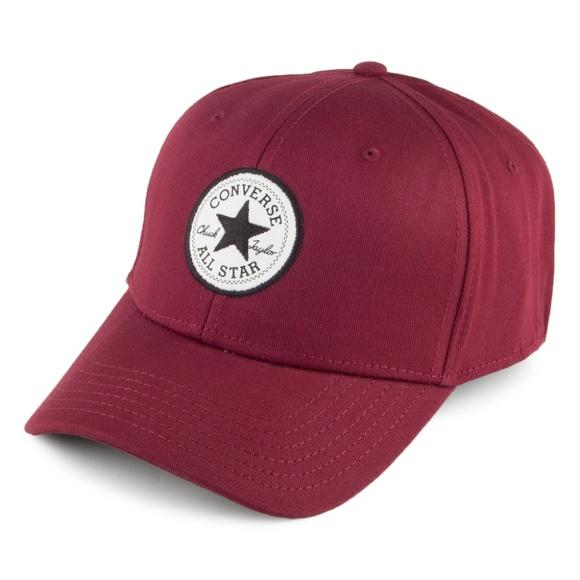 Maroon Converse Chuck Taylor All Star Baseball Hat NWT